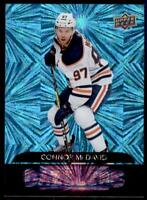 2020-21 UD Series 1 Dazzlers #DZ-18 Connor McDavid - Edmonton Oilers