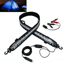 4FT 12V Dimmable Waterproof LED Camping Tent Light Bar Strip Collapsible 1400LM