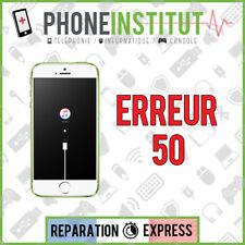 Reparation erreur 50 itunes iphone 4