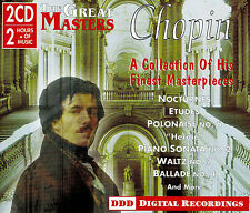GREAT MASTERS Chopin 2 CD Set