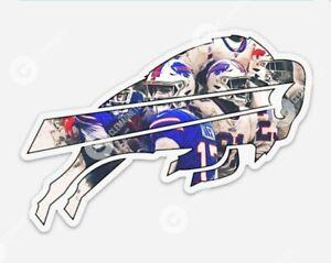 LARGE Buffalo Bills JOSH ALLEN Vinyl STICKER - NFL The Buffalo Bills NY Mafia