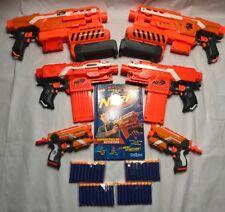 Nerf Bundle Motorised Machine Gun Demolisher Rocket Launcher Stryfe Toys Bullets