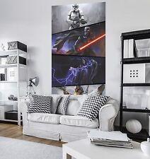 No tejida fotomural gigante 200x120cm tamaño póster Star Wars momentos Imperials