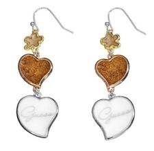 GUESS MUJER PENDIENTES CORAZONES ube21205