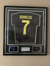 Cristiano Ronaldo Juventus Signed Jersey With Certificate Of Authenticity!