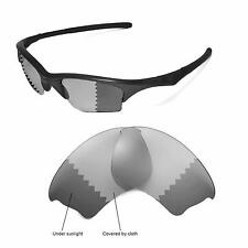 New Walleva Polarized Transition/Photochromic Lenses For Oakley Half Jacket XLJ