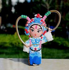 TOURIST SOUVENIR Chinese Peking opera Rubber FRIDGE MAGNET -- Zhou Yu 周瑜