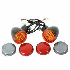 Rear LED Turn Signals Lights Bracket For Harley Sportster XL 883 1200 1992-2017