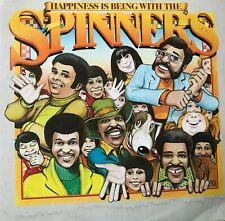 "Happiness is being with the Spinners Record 12"" Album 33 rpm Cat Rescue"