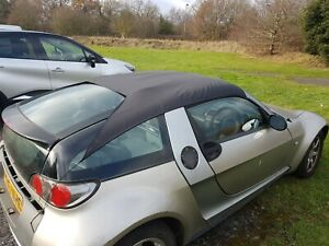 Smart Roadster Coupe 452 All Weather Roof Rain Protection Travel with him to place and Ste
