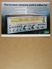 1978 Sansui G9000 G-9000 Stereo Receiver color photo vintage print Ad