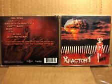 "X-Factor1 ""American Dream"" CD Album alt rock boyshitcars bobaflex xfilesx metal"