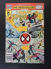 Web Of Spiderman Marvel Comics  Annual 9.0 VF/NM The Hero Killers Part 3 # 8