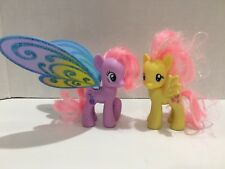 My Little Pony G4 Brushable Glimmer Wings Sweet Song & Fluttershy Ponies