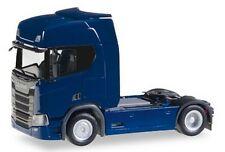 Scania CR20 tracteur solo 2016 bleu foncé - Herpa - Echelle 1/87 (Ho)