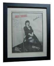 JOHNNY THUNDERS+So Alone+POSTER+AD+RARE ORIGINAL 1978+FRAMED+EXPRESS GLOBAL SHIP