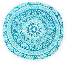 Mandala cushion cover Indian Mandala Meditation Euro Sham Bohemian Pillow Cases