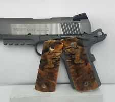 Gun Grips, 1911 Full Size, Dyed, Spalted Birch Wood Pistol Grips (14)