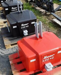 Gewicht Frontgewicht Heckgewicht 700 400kg 300kg Kleintraktor Traktor Schlepper