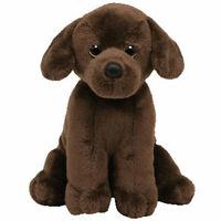 TY Beanie Baby - COCOA the Chocolate Lab Dog (5.5 inch) - MWMTs Stuffed Animal