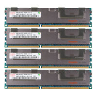 32GB 4X8GB For Hynix 2RX4 DDR3 1333MHz PC3-10600R Reg-DIMM ECC Server Memory RAM