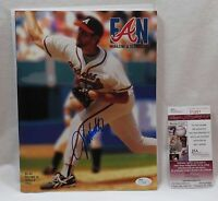 John Smoltz Signed Magazine Fan Atlanta Braves JSA COA