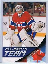 11-12 2011-12 UPPER DECK SERIES 1 CAREY PRICE ALL-WORLD TEAM AW4 CANADIENS
