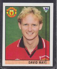 Merlin Shreddies - Premier League 96 - # 33 David May - Manchester United