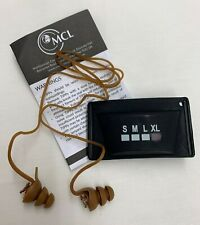 MCL TACTICAL IN EAR DEFENDERS EAR PLUGS PROTECTION TIPPS - Sizes, NEW