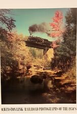 Railroad by O. Winston Link (Vintage Colour Photography, 60cm x 80cm)