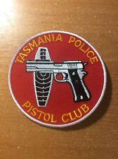 PATCH AUSTRALIA POLICE TASMANIA PISTOL CLUB  - ORIGINAL!