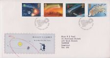 GB ROYAL MAIL FDC 1986 HALLEY'S COMET STAMP SET LONDON PMK