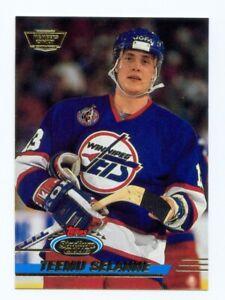 1993-94 Stadium Club Members Only #210 TEEMU SELANNE Winnipeg JETS