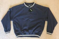 NWT Mens PING Collection Golf Pullover Jacket Sz Med Navy Blue Bushes Beans Logo