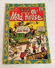 Archie Series Mad House Comic Book #6 12 Cent Flower Power Issue June 1968