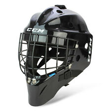 New CCM 7000 SB Std goalie face mask size junior black jr ice hockey goal helmet