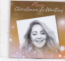 Pleun-Christmas Is Waiting promo cd single