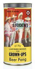 BEER PONG THE STUDENT LADYBIRD BOOKS FOR GROWN UPS CHRISTMAS SECRET SANTA GIFT