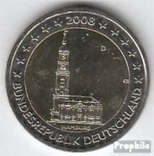 BRD (BR.Duitsland) Jägernr: 534 2008 D Stgl./ongecirculeerd 2008 2 Euro Hamburge