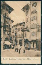 Trento Città Palazzo Rohr Monte ABRASA ANGOLINO SCOLLATO cartolina QT4142
