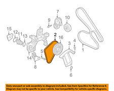 GM OEM-Serpentine Water Pump Belt 12588412