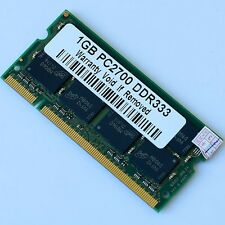 New DDR333 1GB PC2700 DDR333 SODIMM 200PIN MEMORY LAPTOP RAM 333MHZ