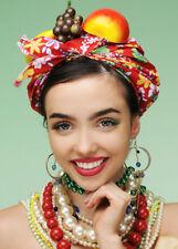 Carmen Miranda Style Showgirl Fruit Hat