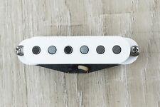 Suhr V63 Single Coil Alnico V Special Strat Style Guitar Pickup NECK White