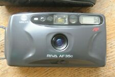 Minolta RIVA AF35c 35mm Compact P & S NICE WORKING
