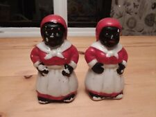 Aunt Jemima Theme Salt and Pepper Shakers  in good condition
