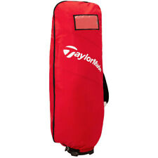 New listing Taylormade True-Lite Air Flight Travel Cover Golf Tour Caddy Cart Bag (Red)