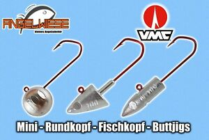 Jigkopf Rundkopfjig Meeresjig Dorschbombe Fischkopfjig Buttjig Microjig VMC