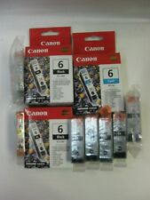 Canon Ink cartridges BCI-6 Lot of 10 assorted inks new old stock photo magenta