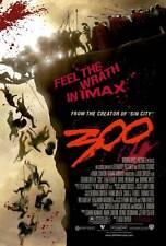 300 Movie POSTER 27x40 K Gerard Butler Lena Headey David Wenham Dominic West